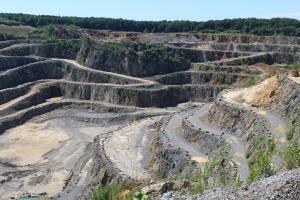 Sprengen im Bergbau